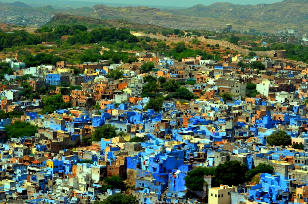 Blue City from Mehrangarh fort ... a pic from my iphone