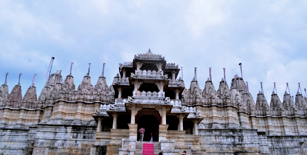 Entering Ranakpur Temple