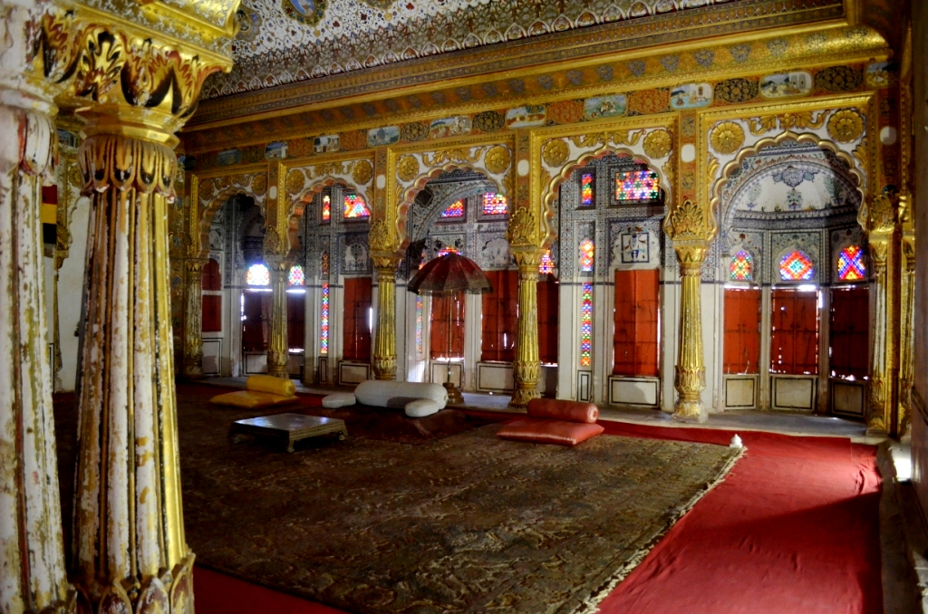 Darbar Hall of Mehrangarh Fort