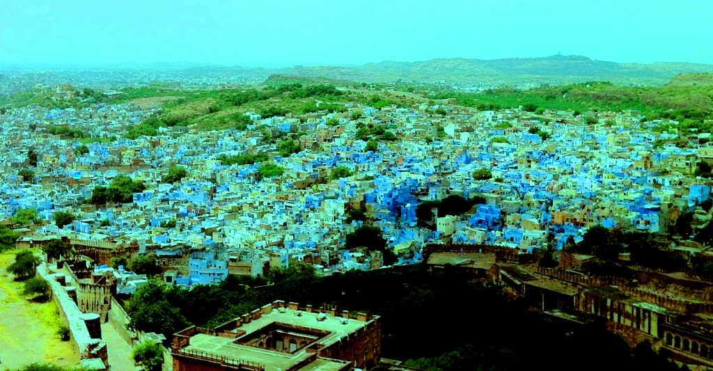 Jodhpur , the Blue city from the top