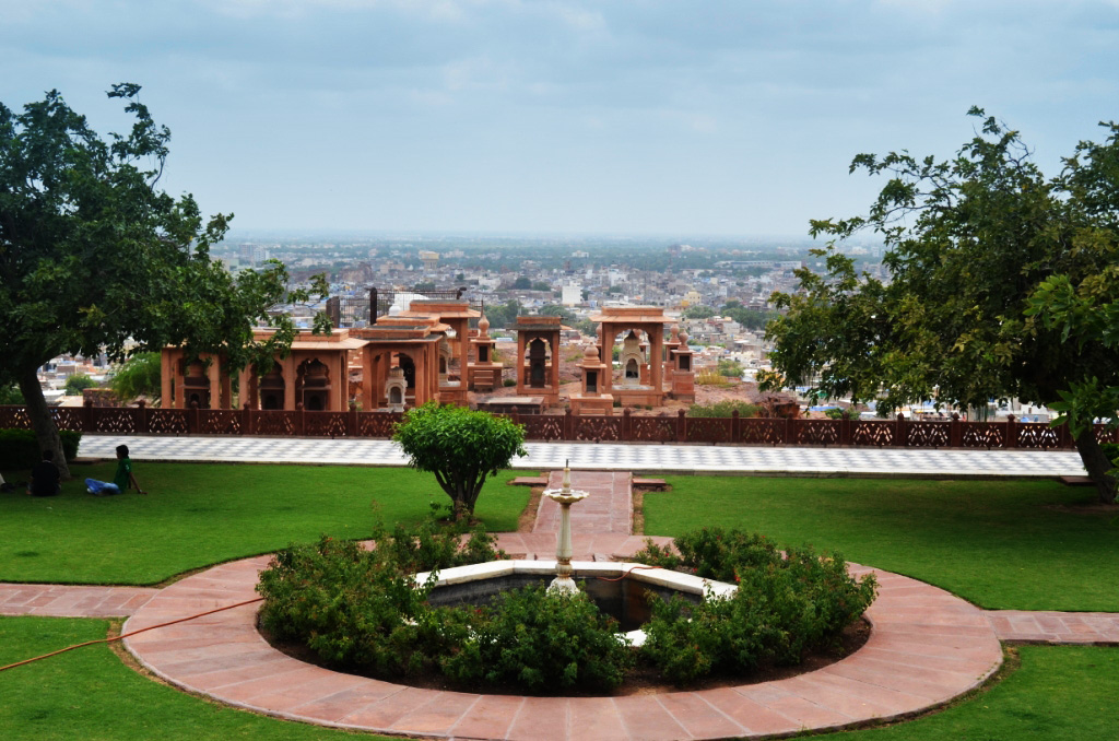 Beautiful view of Jodhpur from Jaswant Thada