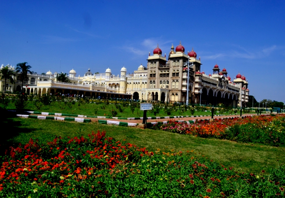 Mysore Palace and Backyard