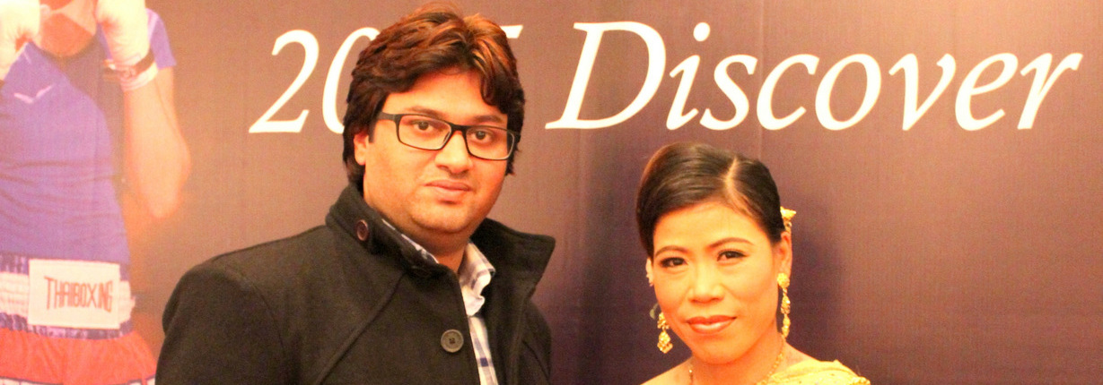 Mary Kom with Me